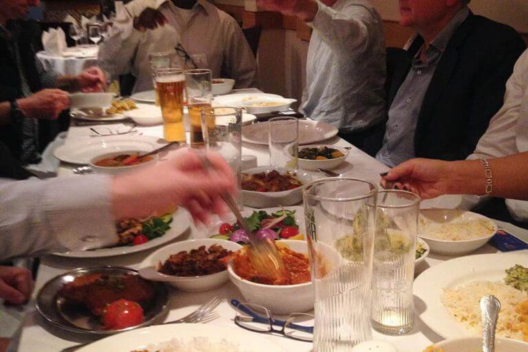 Curry and Beer night