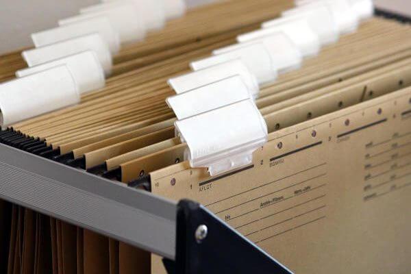 Bookkeeping Hanging Files